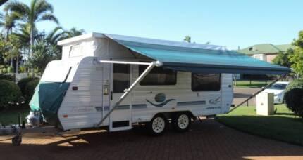 Poptop Caravan_Dual Fridges _Dual Tanks _Single beds_Full Annex