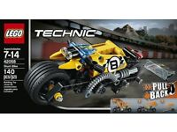 LEGO Technic Stunt Bike 42058: Brand New and Unopened