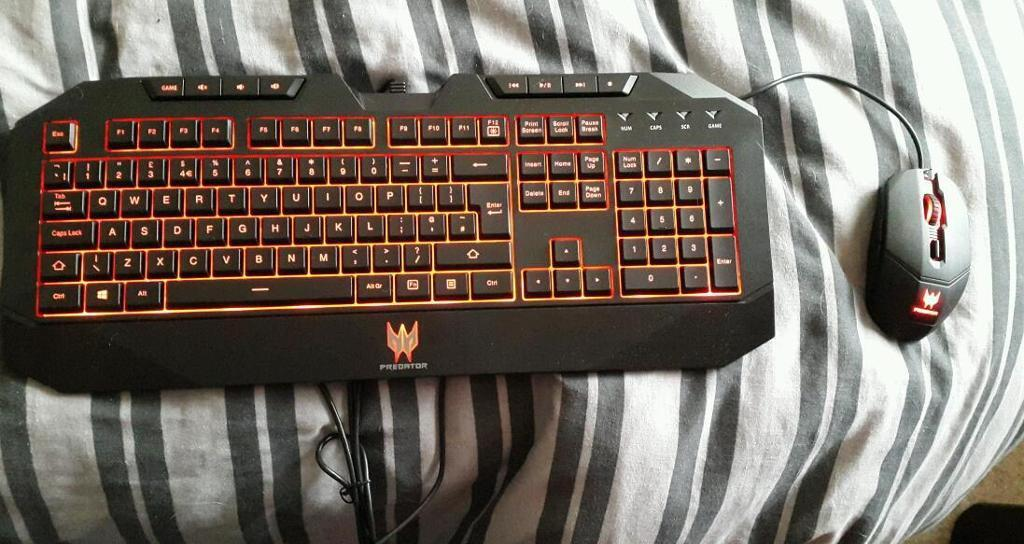 Brand new acer predator gaming mouse and keyboard in  : 86 from www.gumtree.com size 1024 x 544 jpeg 96kB
