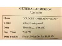 Coldcut -30th anniversary @ Village Underground - SOLD OUT -