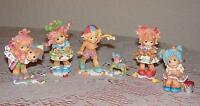 Enesco Figurines Set, 'No Strings Attached' Collection
