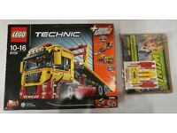 Lego Technic 8109 Flatbed Recovery Truck Brand New In Sealed Packets Open Box