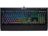 Corsair K68 RGB Mechanical Gaming Keyboard - Cherry MX Switches