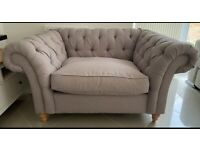 2 Seater Snuggle Chair (Next Gosford Range)