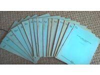 Mullard Technical Communications Booklets - Vol 4 No.32 Aug 1958 to Vol 5 No.50 Aug 1961