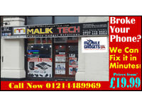 Best iPhone iPad Repair Centre in Birmingham 300+ Real Reviews LCD Screen Charging Port All Done