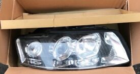 Audi A4 2002 left & right headlights.