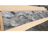 Wren Tek Wall - Purbeck Splash Back- 4000 x 600 - Brand New