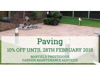Garden Fencing Installations, Award Winning Paving & Landscaping Services (10% OFF until Feb 2018)