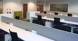 Short term desk spaces available for hire in this coworking space
