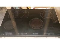 De Dietrich ceramic 4 zone wide hob 77cm can deliver