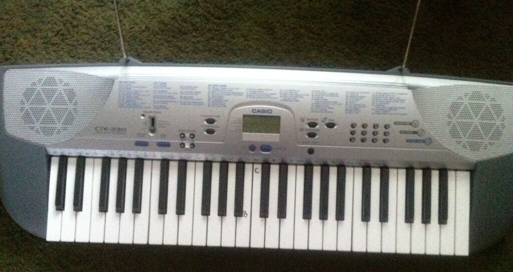 Keyboard Casio CTK 230in Southgate, LondonGumtree - Keyboard in a good working order .Bank songs 49 Mode Piano, fingered,casio chord,normal