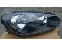 Volkswagen Golf Mk6 (2009 - 2013) Headlight - Genuine VW - Driver Offside