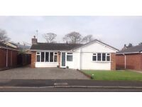 Unfurnished Detached 2 bedroom bungalow in residential area of Abergele, close to all amenities.