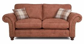Brand New Oakland Tan 3+2 Fabric Sofa. Comes In Black Also. DFS SELL FOR £1299.