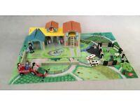 GLTC Wooden Farm Play Set