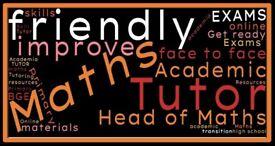 Experienced Mathematics Tutor