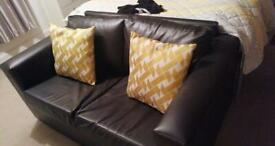 Two seater couch x 2