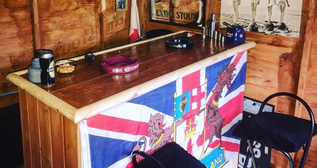 Home Bar for Shed