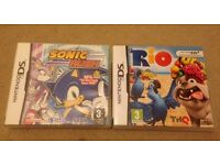 Sonic and Rio DS games