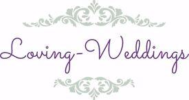 wedding coordinators and wedding waitresses needed