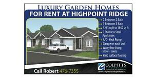 High Point Ridge Luxury Garden Homes