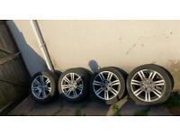 Genuine 17 inch BMW M Sport alloy wheels