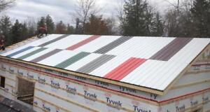 Brand New  Steel Roofing, Several Colours/Quantities Available