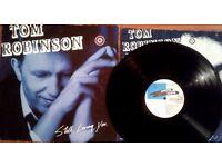Tom Robinson – Still Loving You, VG, released on Castaway Records in 1986, Cat No ZL 71129.