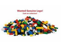 Lego Wanted - Even if mixed up - Large collections - Cash on Collection