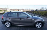 2008 BMW 1 Series 2.0 120d SE 5dr YEAR MOT, ONE Owner From NEW, Parking Sensors all round, Sat Nav