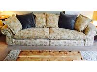 Large 3 seater hand made Sofa