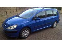 2003 Peugeot 307 1,6 litre 5dr automatic Estate PETROL £820. [ONO]