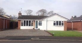 Detached 2 double bedroom bungalow in quiet area of Abergele