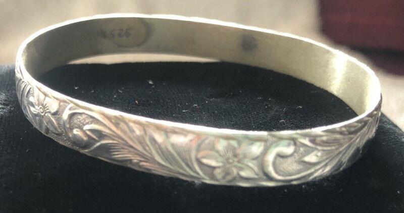 Sterling Silver Hawaiian Bracelet Small 🌺