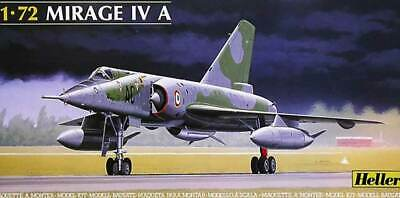 Heller Mirage IV a AMD France Model Kit 1:72 Dassault Boxed Tip Kit