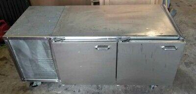 Howard 2 Door Undercounter Refrigerator Model Sc-pon Casters R12 Refrigerant