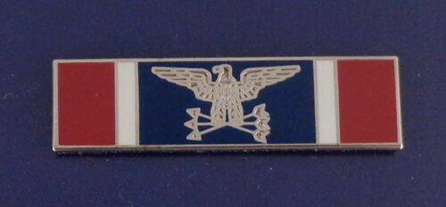 MILITARY SERVICE silver Uniform Commendation/Award Bar police/sherifff/trooper
