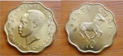 Tanzania 1984 10 Senti Uncirculated (KM11)