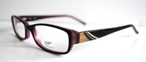Candies Designer Eyeglass Frames + Case! (Model-Naomi) (Black/Purple) New!