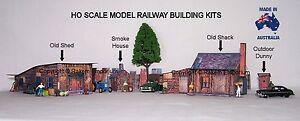 HO Scale Country Farm Set, Model Railway Building Kit - CFS1