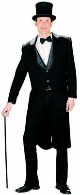 TAILCOAT BLACK (MALE) (1920S , OLD ENGLISH FANCY DRESS) - 1920 Male Fancy Dress