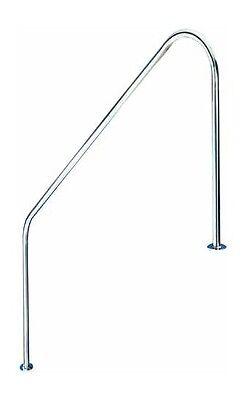 Pasamanos baranda de bajada piscina FX L. 1524mm. Acero Inoxidable AISI 316