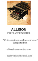 Freelance Writer, Content,  Letters, Speeches