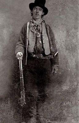Vintage Billy The Kid Photo Bizarre Odd Freaky Strange