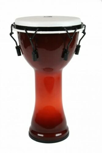 Toca Freestyle Djembe 12inch African Sunset Mechancally Tuned Synthetic Head
