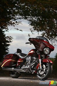 2010 CVO Streetglide - Spiced Rum color