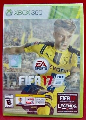 New Electronic Arts Video Game Fifa 17 Xbox 360