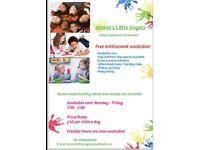 Ofsted Registered Childminder for toddlers and older children
