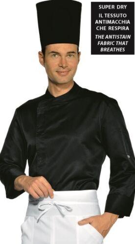 Camice ANTIMACCHIA Cuoco Bianco Profil Nera Super Leggera Chef cucina Ristorante
